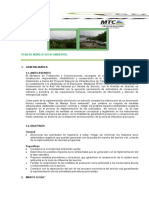 c) Plan de Manejo Socio Ambiental