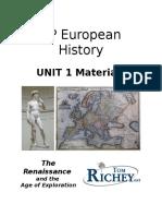 1 - Unit 1 Materials - Euro