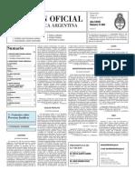 Boletin Oficial 10-08-10 - Segunda Seccion