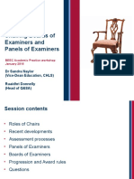 Briefing Chairs Panels Boards Examiners Jan16