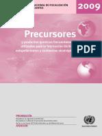 Precursoresy Prodctos Quimicos Frecuentes Uso Ilicito