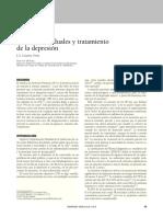 Sistemas residuales y tratamientos de la depresión