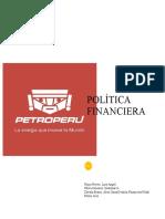 POLITICA FINANCIERA - PETROPERU