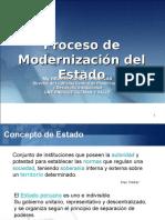 Gestion Publica Modernizacion Estado 2016