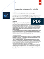 Overview of Electronic Signature Law in the EU