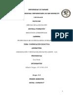 Comunicación Didáctica - Modulo 1