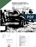PEREIRA e GITAHY. O Complexo industrial da cosntrução civil (1930-1964)