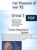 Bacterial Diseases of the Lower RS