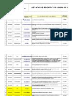 02 RE-ADM-001 Listado de Requisitos Legales y Otros Requisitos v-2