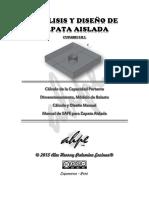 Diseño de Zapata Aislada - [Alex Henrry Palomino Encinas].pdf