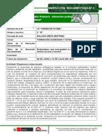 Narración Documentada PPP1 en Proceso