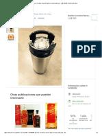 Barriles Cornelius Nuevos 5gal Cerveza Artesanal - US$ 165,00 en Mercado Libre