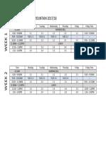 Flex Schedule Remss 2017-18