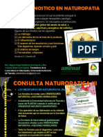 Diagnostico y Evaluacion Naturopatica