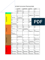 math curriculum planning guide 5