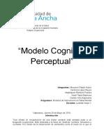 Modelo Cognitivo Perceptual