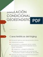 Simulación Condicional-GEOESTADISTICA
