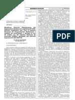 DS 248-2017-EF Modifican Reg. DLeg. 1252