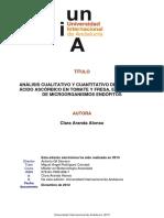 Analisis Cualitativo y Cuantitativo de Licopeno y Acido Ascorbico en Tomate y Fresa