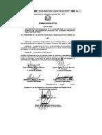 Ley 5806-2017 Ruta Guarani Rape