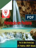 Hidratacao Pediatria 2014 - Prof Mario