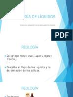 Reologia de Liquidos
