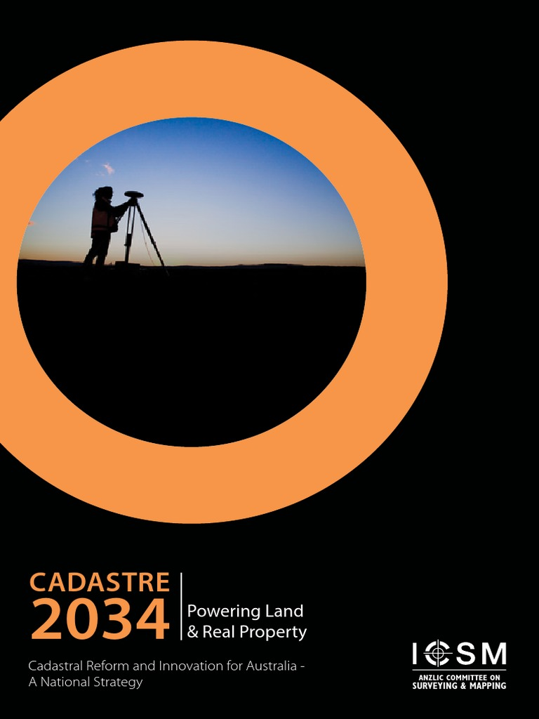 Cadastre 2034   Surveying   Building Information Modeling