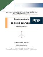 Dossier Acido Sulfurico