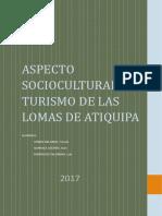 Aspecto Sociocultural y Turismo de Las Lomas.