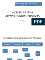 x Facultades de La Administracion Tributaria 2016