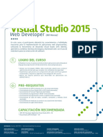 Visual Studio 2015 Web Developer