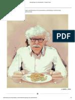 Antropólogo de La Alimentación -