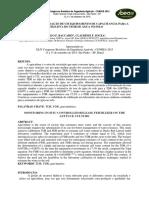 Calibração e Validação de Um Equipamento de Capacitancia Para a Estimativa Do Teor de Água No Solo