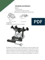 Estructura y Principales Fresadora