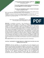 Variabilidade Espacial Dos Atributos Físicos Do Solo Em Sistema de Plantio Direto e Cultivo Mínimo