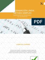 Programación Lineal - Método Simplex - Maximización