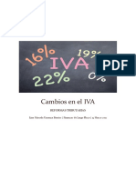 Cambios en El IVA