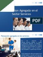 Planeacion Agregada en El Sector Servicios