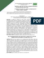 Relação Entre Resistência Mecânica Do Solo e Produtividade Da Cultura de Soja (Glycine Max)