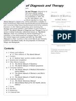 Merck Manual of Diagnosis and Therapy