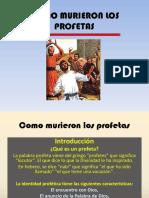 457como Murieron Los Profetas