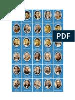 Presidentes de México Con Fotos, fecha de mandato y fecha de nacimiento