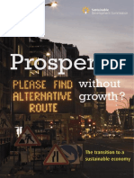Prosperity Without Growth Report