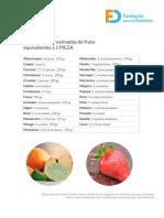 Piez a Fruta