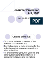 The Consumer Protection Act