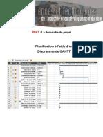 Cours Planification Avec Gantt