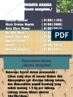 akasia ppt