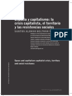 Espacio y Capitalismo