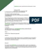 Ley No. 265 Ley Que Establece El Autodespacho Para La Importacion Exportacion y Otros Regimenes