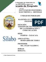 1. FORMATO N° 003-2016 Silabo